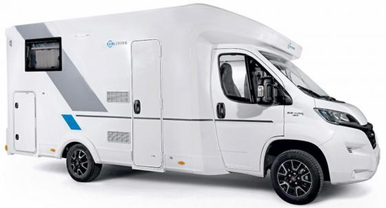 Luxury motorhome side 2019
